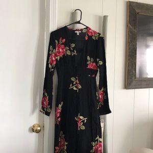 Amuse society floral dress!
